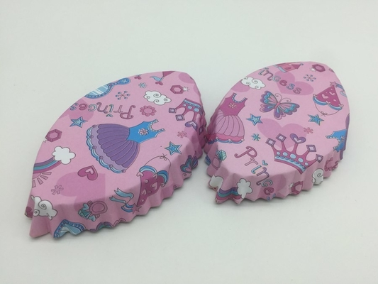 China Fish Shape Paper Baking Cups 110 Gsm Printed Cute Cupcake Holders For Bread supplier