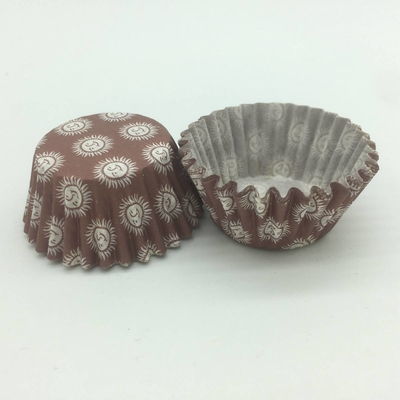 Chocolate Paper Cupcake Liners Brown Paper Muffin Cases Wrapper Baking Mould For Sweet Pastries