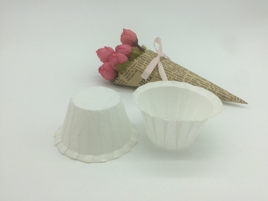 China Customized Printed Disposable Coffee Filters Double Wall Wood Pulp Material distributor